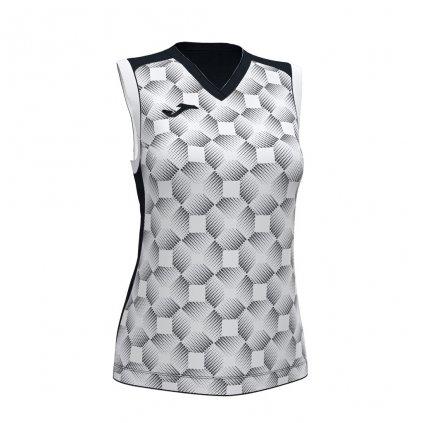 Dámský sportovní dres Joma Supernova III B/R - bílá/černá