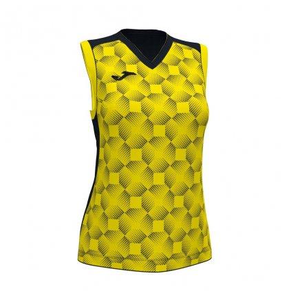 Dámský sportovní dres Joma Supernova III B/R - černá/žlutá