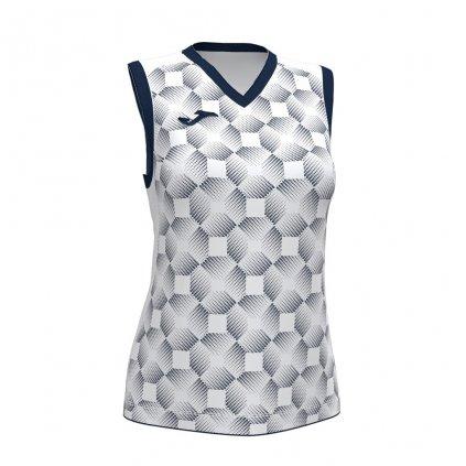 Dámský sportovní dres Joma Supernova III B/R - bílá/tmavě modrá