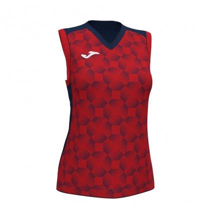 Dámský sportovní dres Joma Supernova III B/R - červená/tmavě modrá