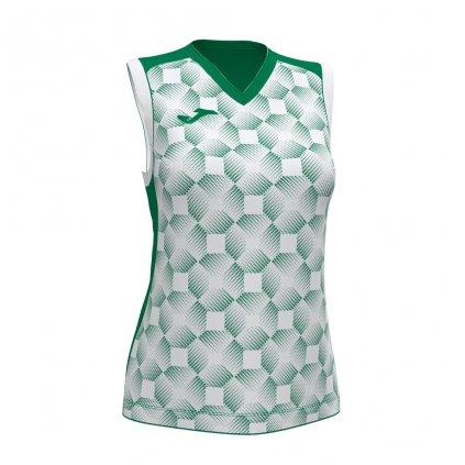 Dámský sportovní dres Joma Supernova III B/R - zelená/bílá