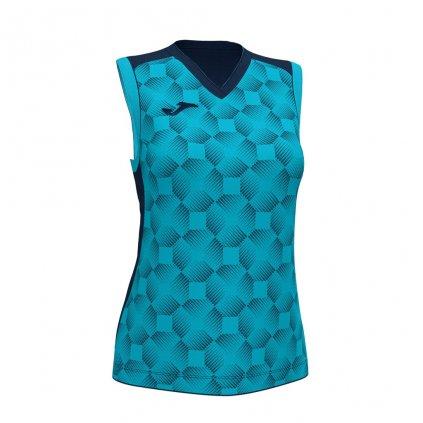 Dámský sportovní dres Joma Supernova III B/R - tmavě modrá/fluo tyrkysová