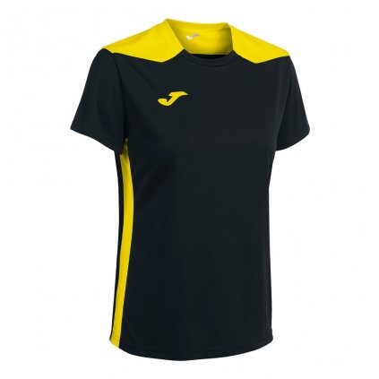 Dámský sportovní dres Joma Championship VI - černá/žlutá