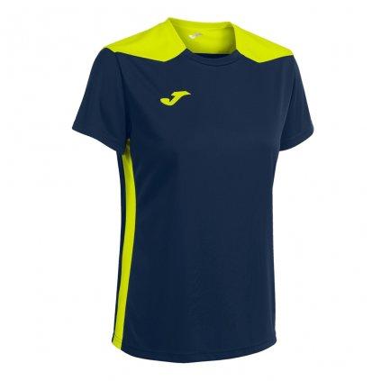 Dámský sportovní dres Joma Championship VI - tmavě modrá/fluo žlutá