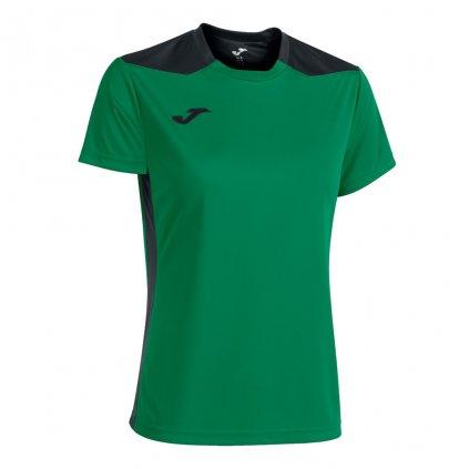 Dámský sportovní dres Joma Championship VI - zelená/černá