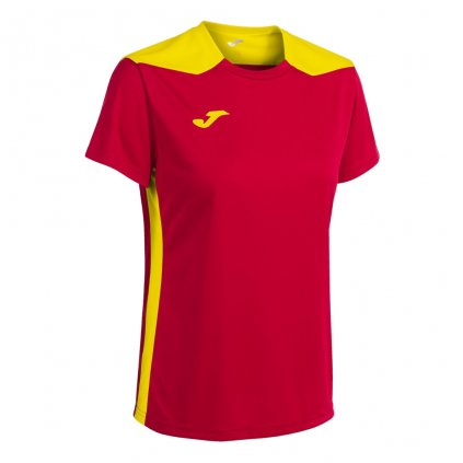 Dámský sportovní dres Joma Championship VI - červená/žlutá