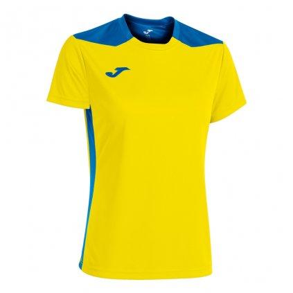 Dámský sportovní dres Joma Championship VI - žlutá/modrá