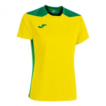 Dámský sportovní dres Joma Championship VI - žlutá/zelená