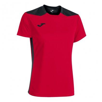 Dámský sportovní dres Joma Championship VI - červená/černá