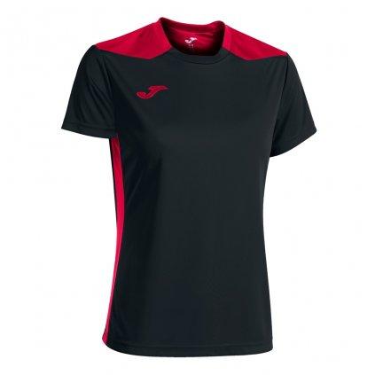 Dámský sportovní dres Joma Championship VI - černá/červená