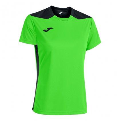 Dámský sportovní dres Joma Championship VI - fluo zelená/černá