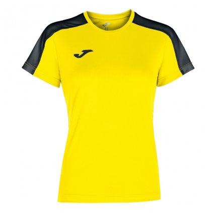 Dámský sportovní dres Joma Academy III - žlutá/černá