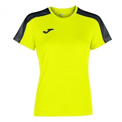 Dámský sportovní dres Joma Academy III - fluo žlutá/černá