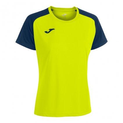 Dámský sportovní dres Joma Academy IV - fluo žlutá/tmavě modrá