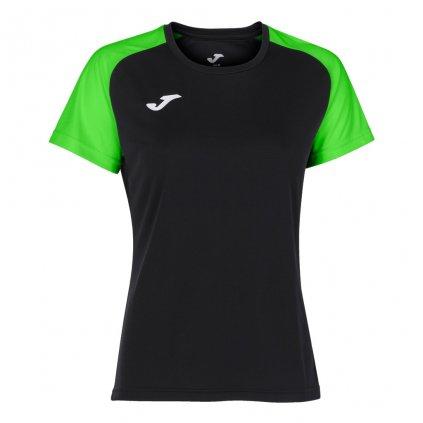 Dámský sportovní dres Joma Academy IV - černá/fluo zelená