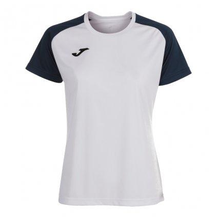Dámský sportovní dres Joma Academy IV - bílá/tmavě modrá