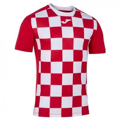 Sportovní dres Joma Flag II - červená/bílá