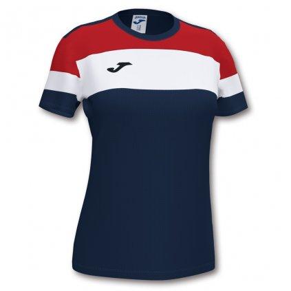 Dámský sportovní dres Joma Crew IV - tmavě modrá/červená