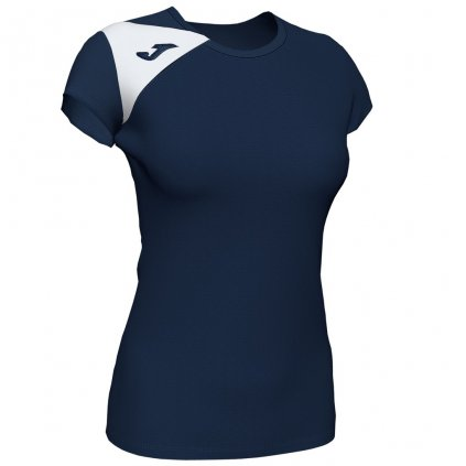 Dámský sportovní dres Joma Spike II - tmavě modrá/bílá