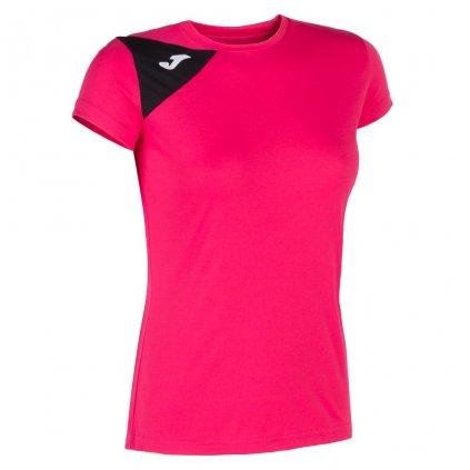 Dámský sportovní dres Joma Spike II - růžová/černá