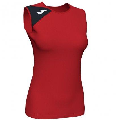 Dámský sportovní dres Joma Spike II B/R - červená/černá