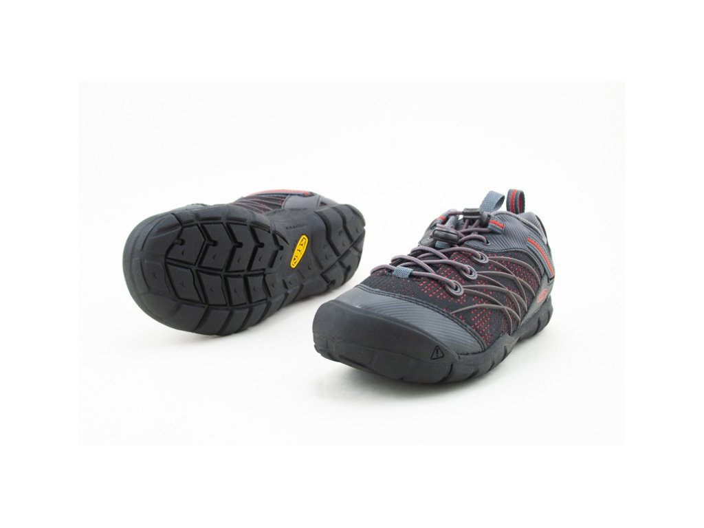 KEEN CHANDLER CNX RAVEN/FIERY RED (Velikost 35)