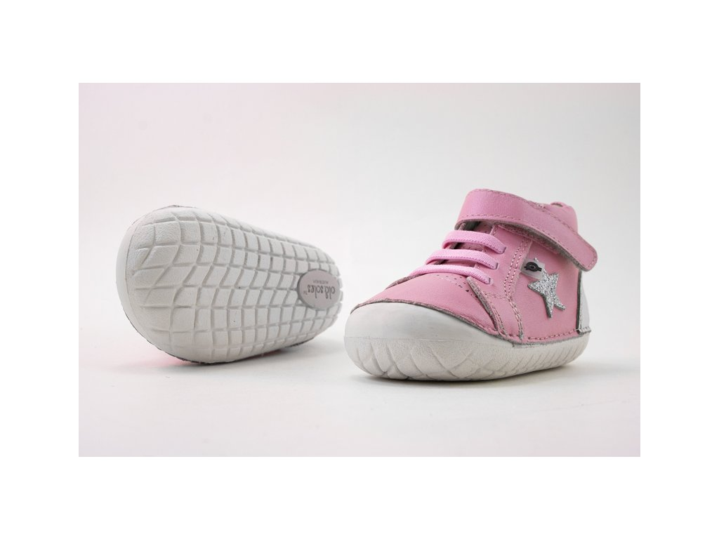 OLD SOLES CHAMPSTER PAVE PEARL PINK/SILVER/GLAM ARGENT
