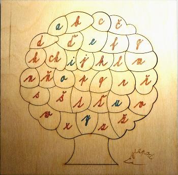 Písmenkový psací strom