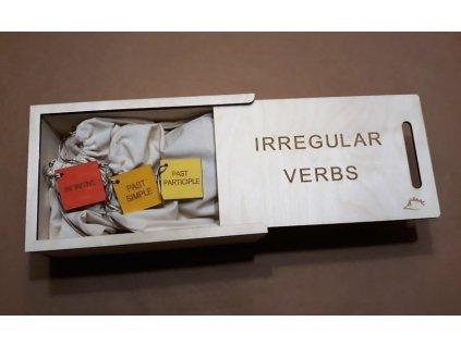 Irregular verbs (nepravidelná slovesa)