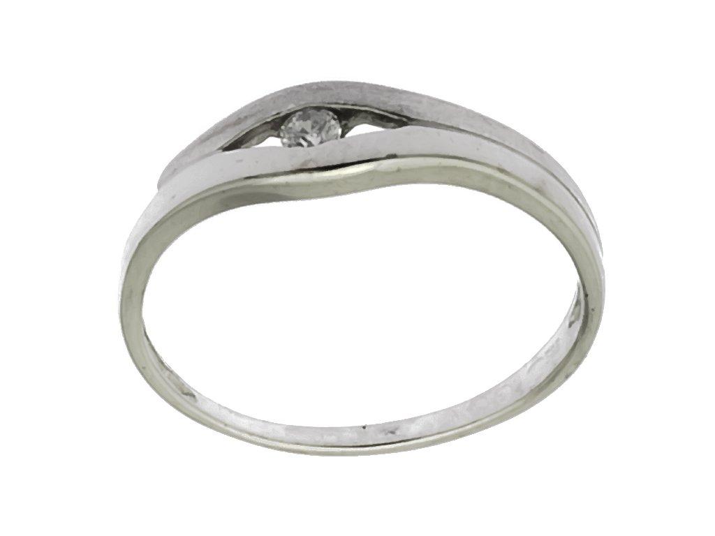 Prsten z bílého zlata G896