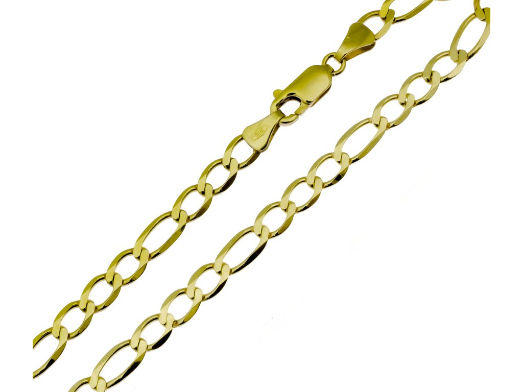 Náramek ze žlutého zlata D470