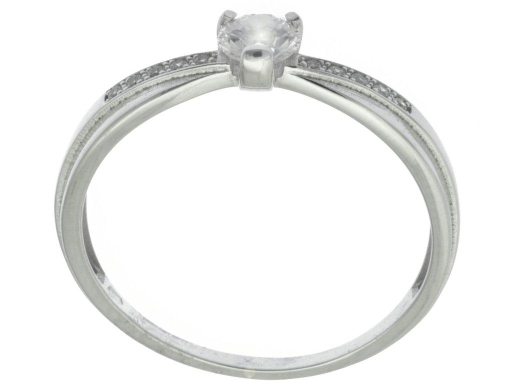 Prsten z bílého zlata G914