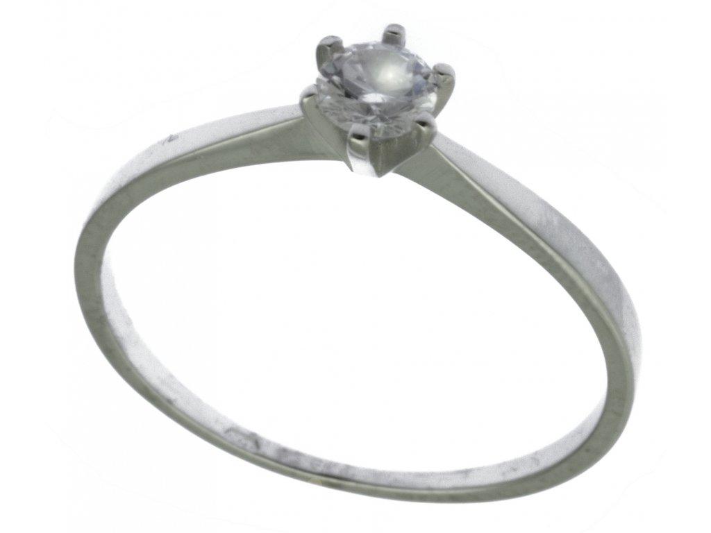 Prsten z bílého zlata G916