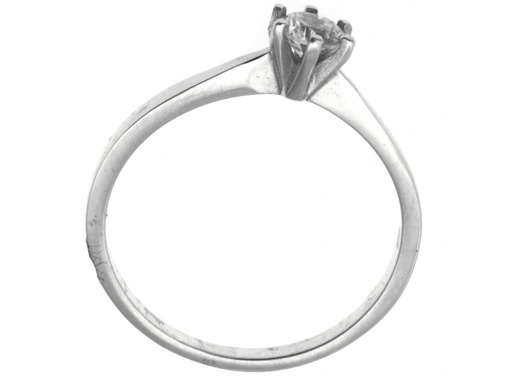 Prsten z bílého zlata G917