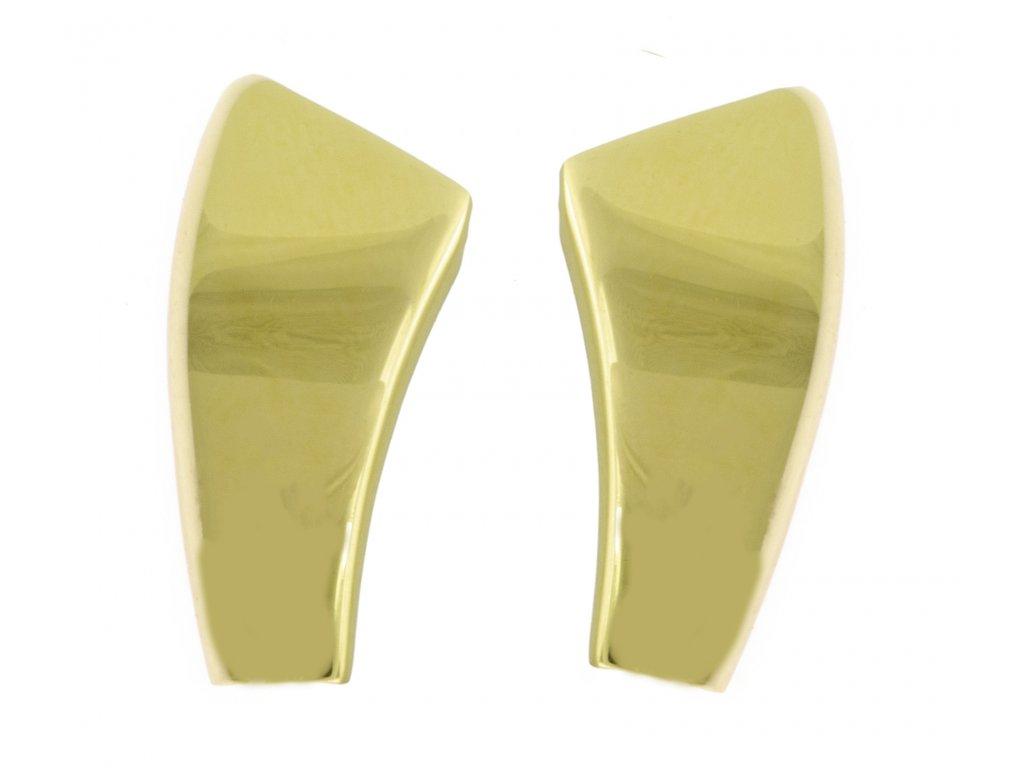 Náušnice ze žlutého zlata N057