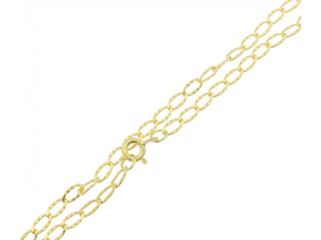 Zlatý náramek D377