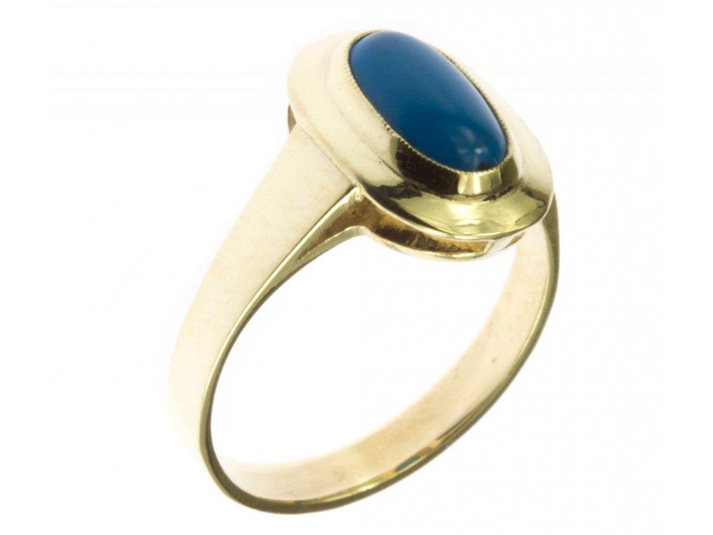 Prsten ze žlutého zlata G561
