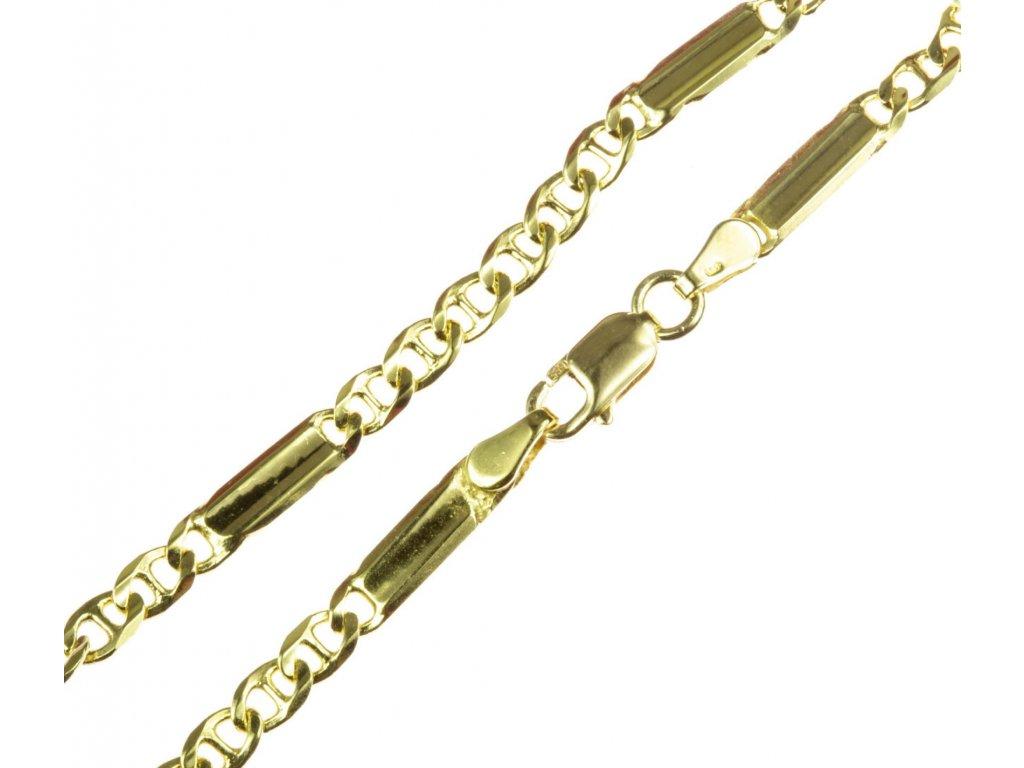 Zlatý náramek D285