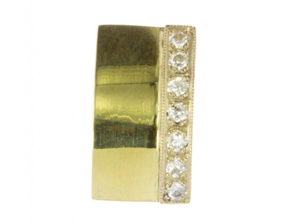 Přívěsek ze žlutého zlata D622
