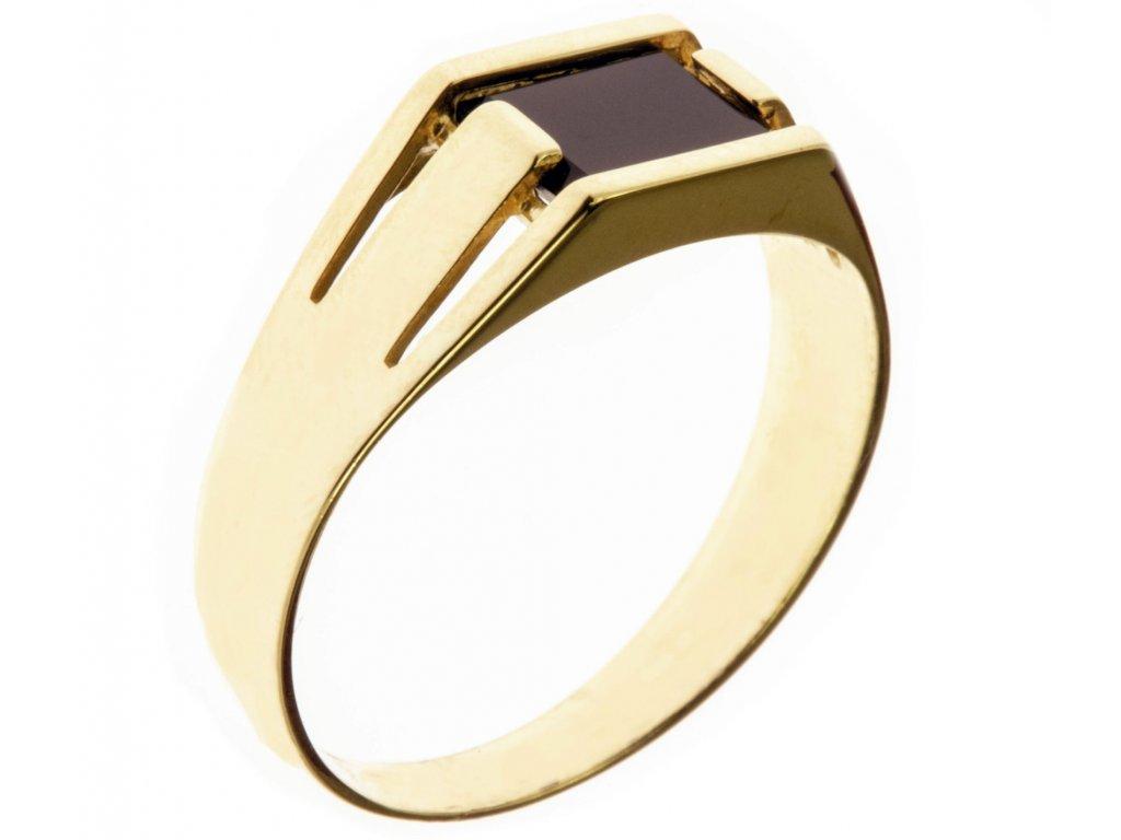 Prsten ze žlutého zlata G602