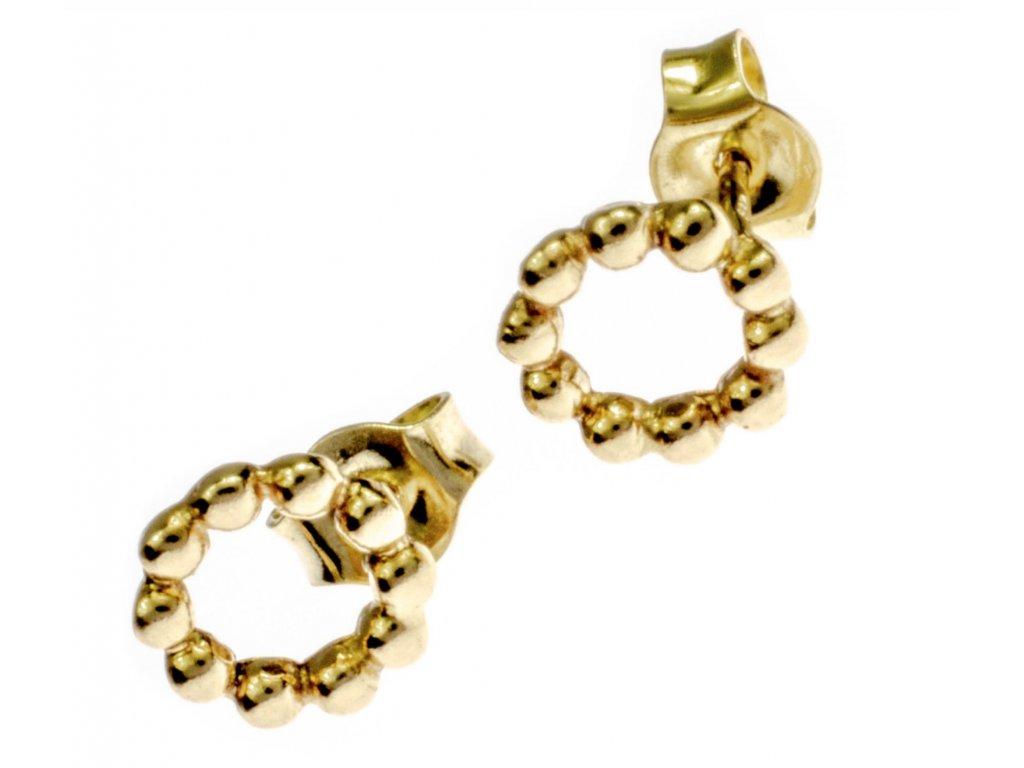 Zlaté náušnice A089