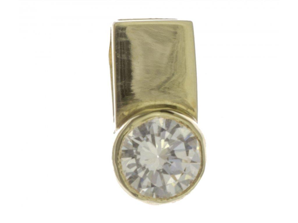Přívěsek ze žlutého zlata H563