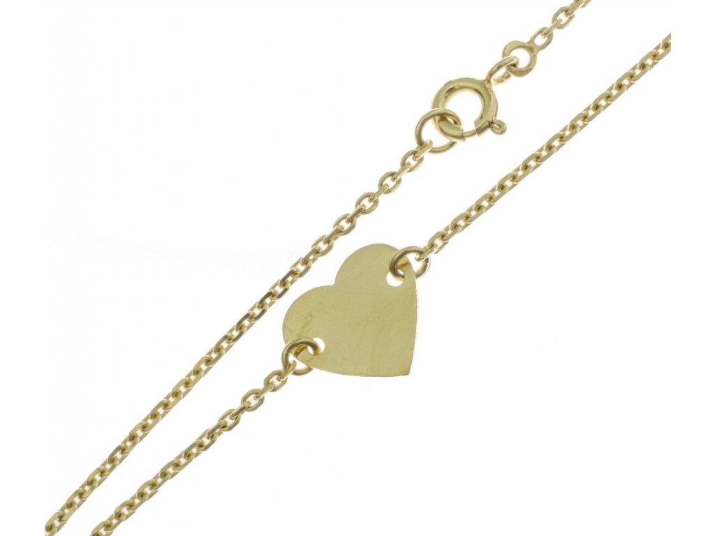 Zlatý náramek D345