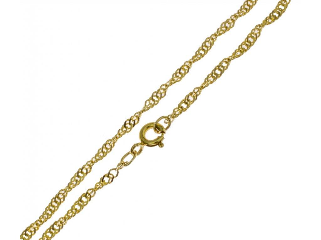 Zlatý náramek lambáda D297