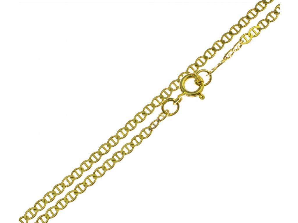 Zlatý náramek D319