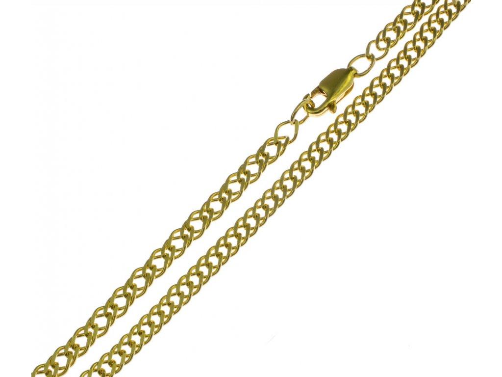 Zlatý náramek D330