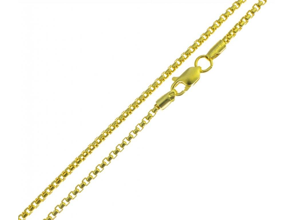Zlatý řetízek  D899