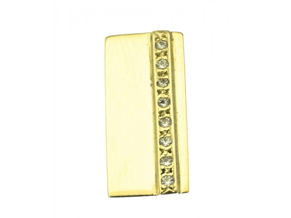 Přívěsek ze žlutého zlata  H752