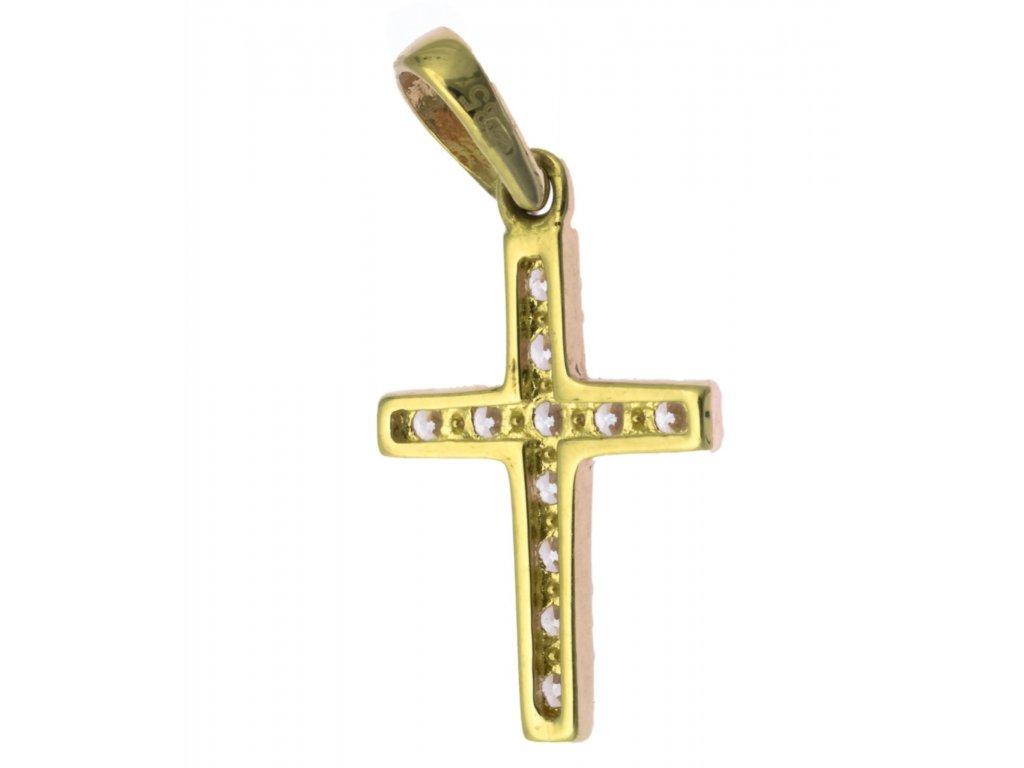 Přívěsek ze žlutého zlata  H869