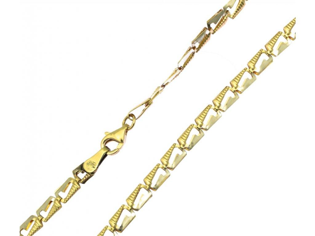 Zlatý náramek D317